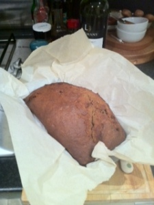 ginger cake home made baking 500 days of summer