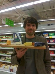 alex james asda pudsey cheese aj supermarket blur indie foodie
