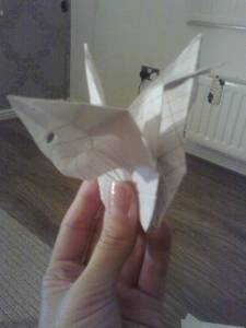 paper crane swan origami paper folding japanese craft how to guide gemma critchley craft blog