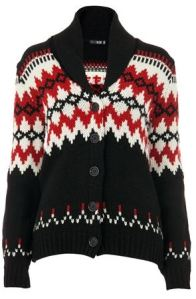 joy shawl cardigan fair isle knit christmas jumper vintage retro gemma critchley fashion blog