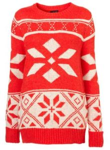 topshop christmas jumper snowflake retro vintage christmas jumper uk fashion blog gemma critchley