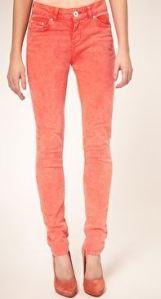 asos orange tangerine tango skinny jeans pantone gemma critchley fashion blogger
