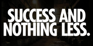 success and nothing less mantra for 2012 inspiration cool hunter gemma critchley