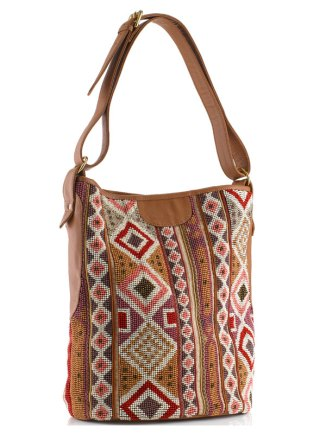 coachella festival bag celeb style fashion gemma critchley beaded tribal aztec bag accessorize