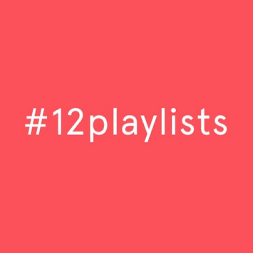 12playlists #12playlists mixtapes 2014 challenge gemma critchley